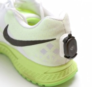 RunScribe on Shoe
