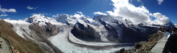 Panoramic View from Gornergrat