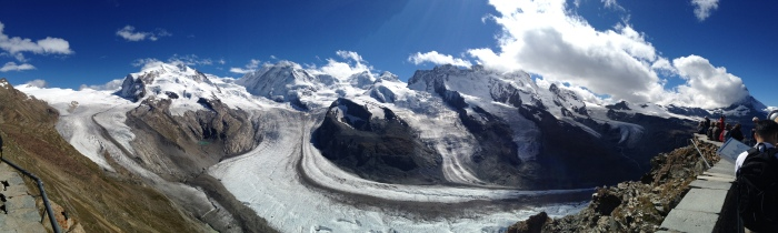 Panoramic View from Gornergrat