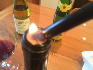 Reframing the cork