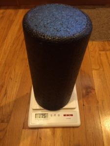 Foam Roller on Scale