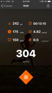 Running Inefficiently