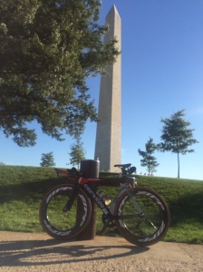 Bike in Front of Washington Monument