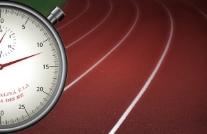 Stopwatch at Track