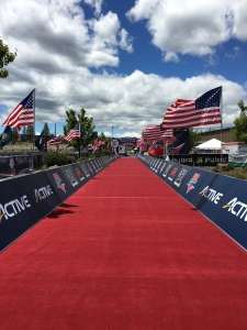 The Finish Line at USAT Duathlon Nationals