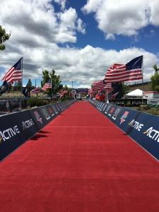 The Finish Line at USAT Duathlon Nationals