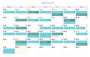 Fitness Planner Calendar